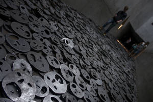 Jüdisches Museum's Shalekhet (Fallen Leaves) exhibit (Berlin, Germany, 2014)