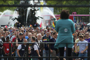 Gay Pride Rally