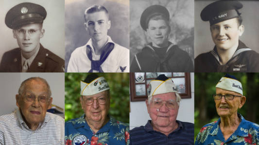 Pearl Harbor survivors, 75 years later