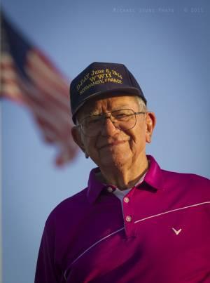 Bob Overton, World War II veteran (Gainesville, Florida, 2015)