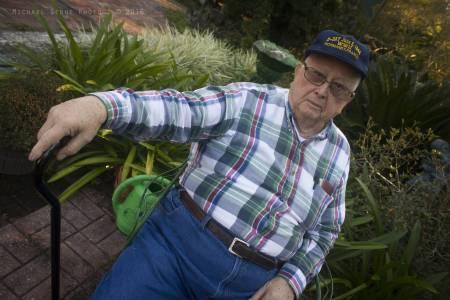 Carlos Crews, World War II veteran (Lake City, Florida, 2016)