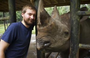 me and rhino
